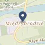 """Husop w Warszawie O/oddział w Piwnicznej Zdroju Sanatorium Uzdrowiskowe """"Limba"""" na mapie"""