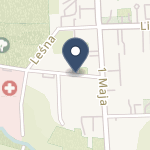 Kolejowy Szpital UzdrowiskowySPZOZ w Nałęczowie na mapie