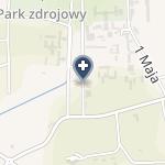 """Sanatoria """"Słowacki"""" na mapie"""