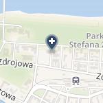 Centrum Rehabilitacji i Odnowy Biologicznej Sanatorium Uzdrowiskowe Gryf w Kołobrzegu na mapie