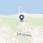 """NZOZ Ppuh """"Dekom"""" Sanatorium Uzdrowiskowe """"Bałtyk"""" na mapie"""