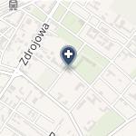 NZOZ Sanatorium Uzdrowiskowe Związku Nauczycielstwa Polskiego Zg na mapie