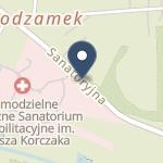 Samodzielne Publiczne Sanatorium Rehabilitacyjne im. Janusza Korczaka na mapie